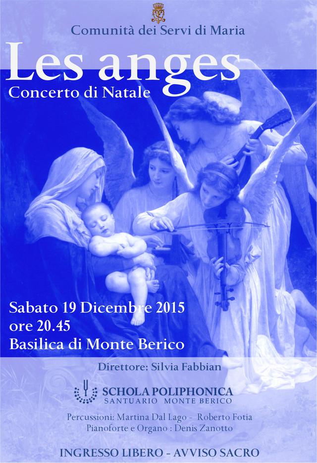 Concerto Natale Les Anges